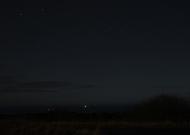 Aurora Hunting at Ravenscar - 9th Jan 2014 - Image credit: Mark Tissington
