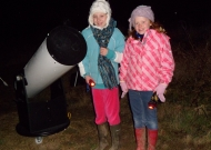 Laura and Grace - Stargazing (Image Credit: Maria Prchlik / RSPB)