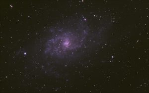 The Triangulum Galaxy (Messier 33) imaged during Starfest 2012 by Juergen Schmoll
