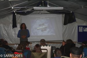 Gary Fildes of Kielder Observatory speaking at Starfest 2013