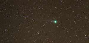Comet Lovejoy imaged by Andy Exton from Ravenscar on 24th January 2015