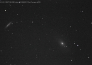 Messiers 81 and 82 - 9th Jan 2014 - Image credit: Mark Tissington
