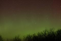 Aurora at Ravenscar - 27th February 2014. Image credit: Andy Exton